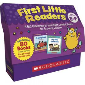 First Little Readers Classroom Set: Levels E & F