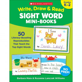Write Draw & Read Mini Books Sight Word