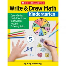 Write & Draw Math: Kindergarten