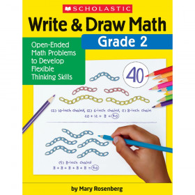 Write & Draw Math: Grade 2