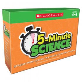5-Minute Science: Grades 4-6