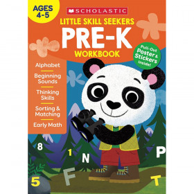 Little Skill Seekers: Pre-K Workbook