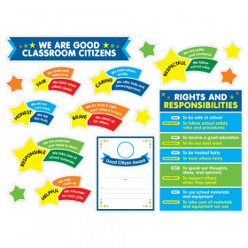 We Are Good Classroom Citizens Bulletin Board Set
