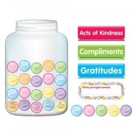Kindness & Gratitude Jar Bulletin Board Set