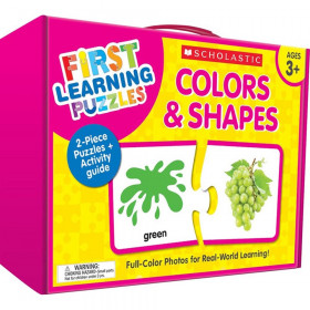 First Learning Puzzles: Colors & Shapes