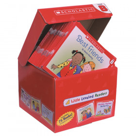 Little Leveled Readers Book: Level B Box Set, 5 Copies of 15 Titles