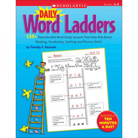 Scholastic Daily Word Ladders Book, Grades 1-2