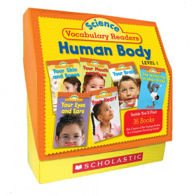 Science Vocabulary Readers Set: Human Body Book, Set of 36 Books