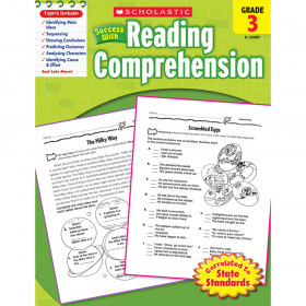 Scholastic Success With Reading Comprehension Gr 3