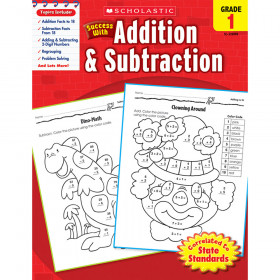Scholastic Success With Addition & Subtraction Gr 1