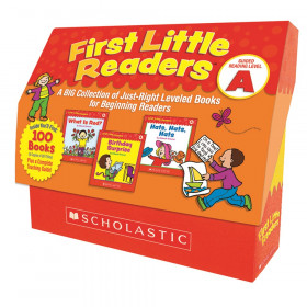 First Little Readers Books, Guided Reading Level A, 5 Copies of 20 Titles
