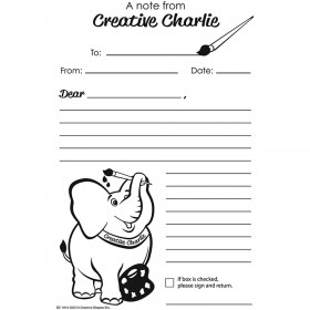 Blank Notes From Creative Charlie