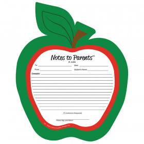 Notes to Parents, Blank Apple Notepad
