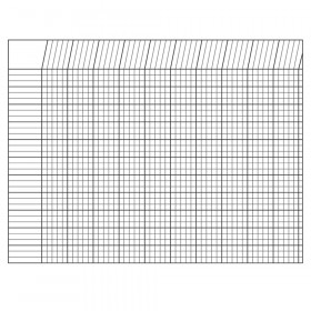 Incentive Chart Horizontal White 28 X 22
