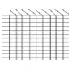 Horizontal Chart White