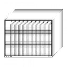Horizontal Incentive Chart Set, White