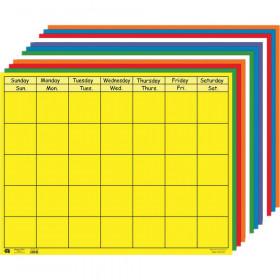 "Horizontal Calendar Set, 22"" x 28"", Pack of 12"