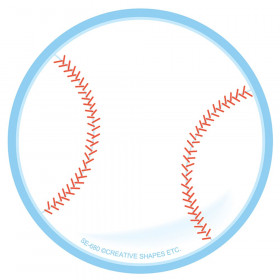 Creative Shapes Notepad, Baseball, Mini