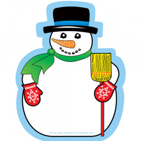 Notepad Mini Snowman