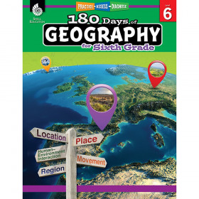 180 Days of Geography, Grade 6