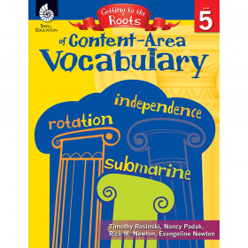 Getting to the Roots of Content-Area Vocabulary Book, Grade 5