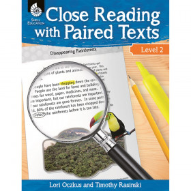 Close Reading with Paired Texts Book, Level 2