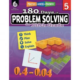 180 Days of Problem Solving Book, Grade 5