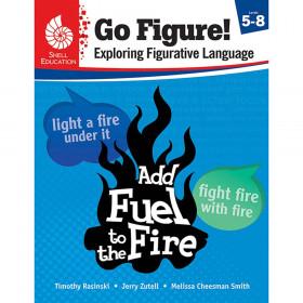 Shell Education Go Figure! Book, Grades 5-8