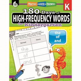 180 Day High Freq Words Gr K Workbk