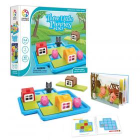 Three Little Piggies Deluxe Preschool Puzzle Game