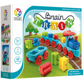 Brain Train Preschool Puzzle Game