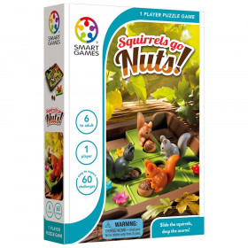 Squirrels Go Nuts 1-Player Puzzle Game