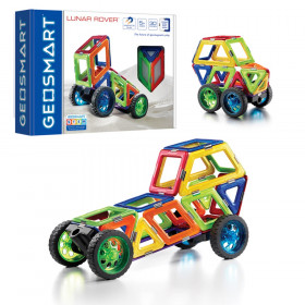 Lunar Rover 30 pc., Magnetic Construction