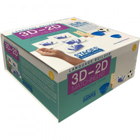 Language Builder 3D-2D Matching Kit, Everyday Objects