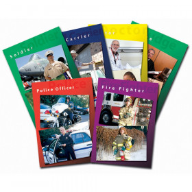 Community Helpers Real Life Learning Poster Set, Set of 6