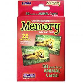 Photographic Memory Matching Game, Animals