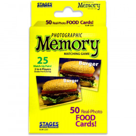 Food Photographic Memory Matching Game