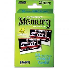Photographic Memory Matching Game, Vehicles