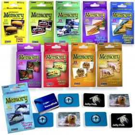 Set Of 10 Memory Games