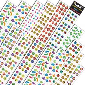 Jumbo Variety Stickers Assortment Q