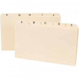 Smead A-Z Index Card Guides 5 X 8