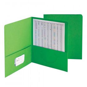 Smead 25Ct Green Standard Two Two Pocket Folders