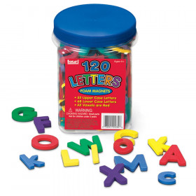 Letters Foam Magnets, 120-Piece Set