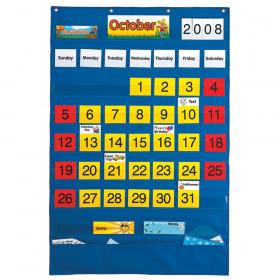 "Bilingual (English/Spanish) Calendar Pocket Chart, 25-1/2"" x 38-1/4"""