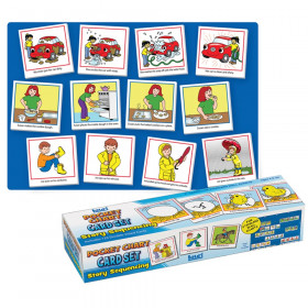 Story Sequencing Wall Pocket Chart Card Set