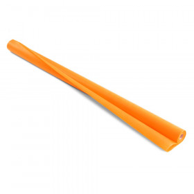 "Disposable Art & Decoration Fabric, Orange, 48"" x 40' Roll"