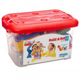 Build & Roll Play Set, 44 pieces
