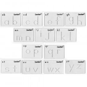 Beginning Alphabet Templates, Lowercase