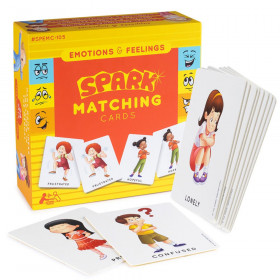 Emotions and Feelings Matching Cards Memory Game