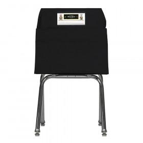 Seat Sack, Large, 17 inch, Chair Pocket, Black